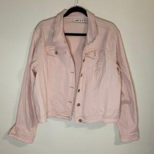 CATO * Pastel pink jean jacket